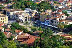 Η ομορφη Πλακα κατω απο την Ακροπολη στην Αθηνα !!!!! :) Athens Plaka