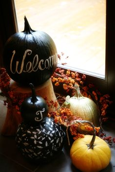 Painted Pumpkin How To