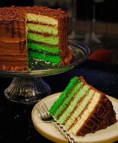 Damon's St. Pats cake :)  facebook.com/haywiredesign