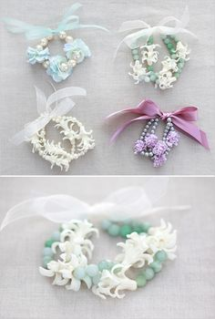 diy flower jewerly