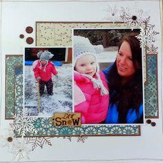 Snow Baby - Scrapbook.com