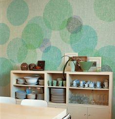 Papel pintado en la cocina on pinterest wallpapers - Papel pintado para cocina ...
