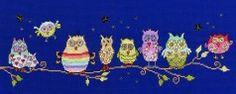 Bothy Threads - Owl Fun - XJR10 #crossstitch,#crossstitching,#crossstitchkits