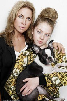 Anaïs Gallagher (Noel Gallagher's daughter) & mom Meg Mathews