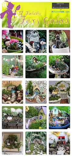 17 {Fantastic} Fairy Gardens | curated by 'House of Hawthornes' blog!