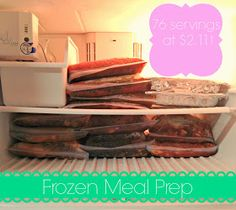 all things katie marie: Frozen Meal Prep Part Two