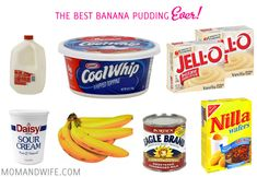 Best Banana Pudding ever :)