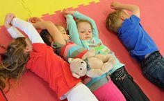 Rolling on the floor for vestibular, proprioceptive iniput and motor development.