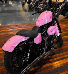 breast cancer, bike, pink ribbons, cancer awareness, harleydavidson sportster, cancer harley, harley davidson motorcycles, ass pink, pink ride