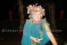 Easy Homemade Mother Nature Costume for Women... Coolest Halloween Costume Contest