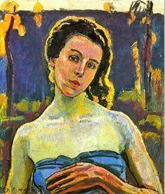 Portrait of a Woman Ferdinand Hodler - 1907
