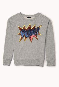 Pow! Sequined Sweatshirt (Kids)