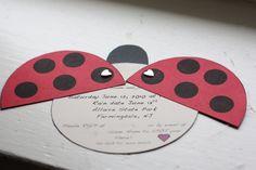 invitation coccinelle