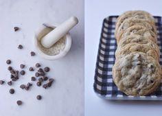 Chocolate Chip Cookies with Gray Sea Salt