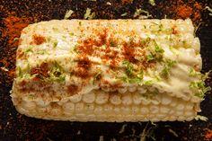 Corn with Roasted Garlic Aioli, Lime, and Smoked Paprika