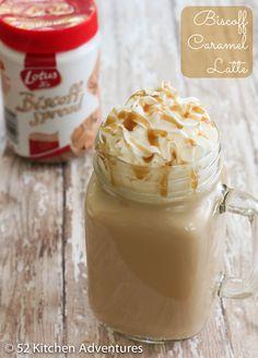 Biscoff Caramel Latte - 52 Kitchen Adventures | 52 Kitchen Adventures