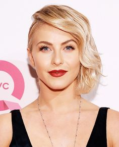 Short curly hair inspo: Julianne Hough #InStyle