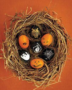 Spooky Eggs