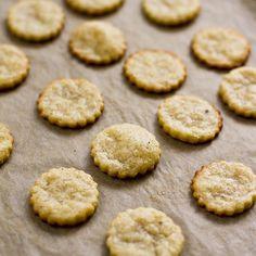 // parmesan crackers