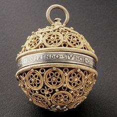 16th century, Italy. Pomander