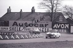 Chris Craft  1964 Aintree 200 .. works Lotus Cortina