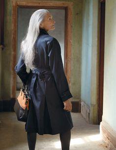 Long Grey Hair....beautiful!