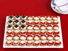 Fruit-Tart Flag Recipe : Food Network Kitchen : Food Network