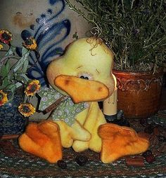 bird chick, craft, primit chicken, patterns, ebay, primitive, birds, orni pattern, patti ratti