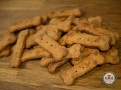 Gourmet Peanut Butter Dog Cookie Recipe — Beauty and the Feast