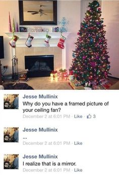I laughed way too hard at this - why do you have a framed picture of your ceiling fan?