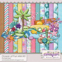 Ocean of Fun Mini Kit by Mirelle Candeloro - PU/S4H/S4O ok