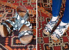 alisaburke: fashion friday- tribal painted sandals