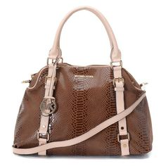 Michael Kors Outlet Bowling Large Coffee Satchels Most of their bags are only $65 For Sale...