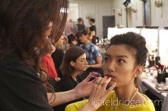 Lauren Hutton Makeup on Com   Lisaeldridge  Makeup  Lfw  Beauty  Alicetemperley  Temperleylfw