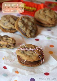 Photobucket  Chocolate Chip Peanut Butter Cup Cookies