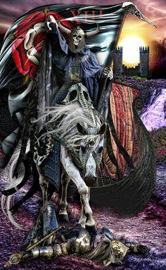 Tarot Illuminati - Death - Erik C. Dunne