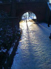 Remembering the cold December snow #snow #winter #swindon #sun #instagram