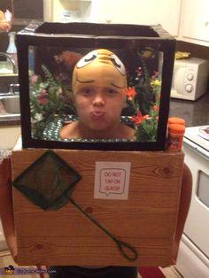 Fishtank DIY Halloween Costume