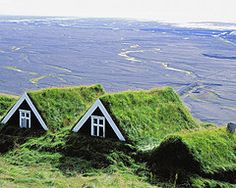 Grass Roof Houses (Iceland)
