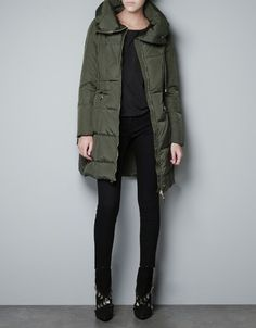 puffer jacket, oliv color, fashion, style, cloth, winter is coming, sleeping bags, parka, coat