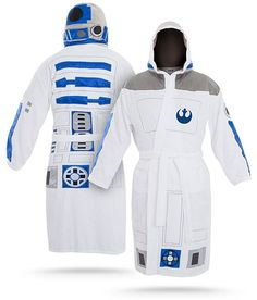 Star Wars R2D2 Bathrobe from ThinkGeek on Catalog Spree, my personal digital mall.