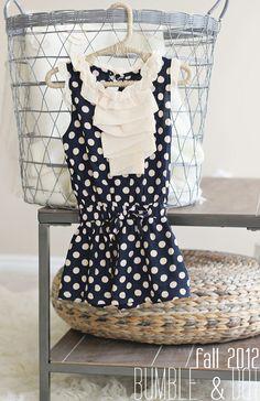 Toddler dress. Size 3 Toddler.  Bumble & Dot