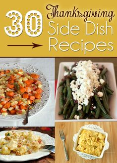 30 Thanksgiving Side Dishes - Cupcake Diaries