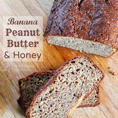 Banana, Peanut Butter & Honey bread recipe. Perfect energy booster and the taste is amazing! #EnergytoBurn #LatinaBloggers #ad