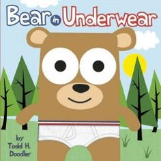 September 29, 2014. While playing hide-and-seek, Bear finds a backpack filled with underwear.