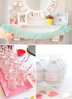 Rain Inspired party - cute ideas for a girls night in