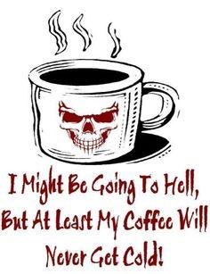Food Humor | No cold coffee... | My sick humor