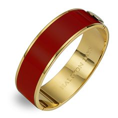 Halcyon Days, Red Gold 2cm Bangle at Fortnum & Mason #red #gold #bangle