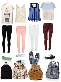 """casual school outfits"" by thatdreamcatcher ❤ liked on Polyvore"