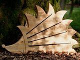 Schaukelpferde - Regenbogenwippe - ein Designerstück von Lunatur bei DaWanda